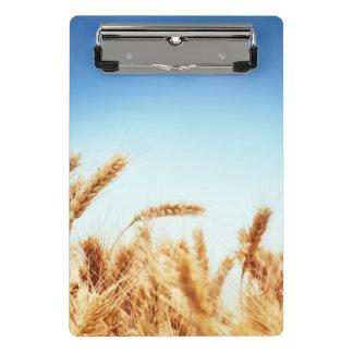Mini Porte-bloc Champ de blé contre le ciel bleu