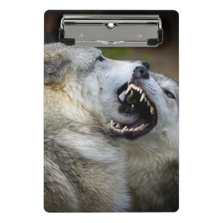 Mini Porte-bloc Combat de loup