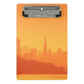 Mini Porte-bloc Coucher du soleil lumineux de San Francisco