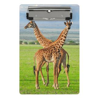 Mini Porte-bloc Deux girafes