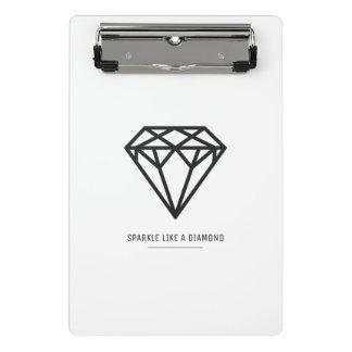 Mini Porte-bloc Diamant