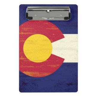 Mini Porte-bloc Drapeau grunge du Colorado