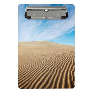 Mini Porte-bloc Dunes de sable d'appartements de mesquite