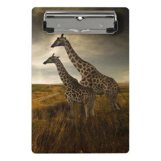 Mini Porte-bloc Girafes et le paysage