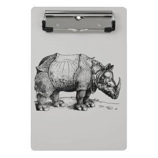 Mini Porte-bloc Le rhinocéros