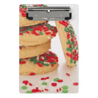 Mini Porte-bloc Le tir de studio des biscuits de Noël avec arrose