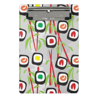 Mini Porte-bloc Motif de sushi