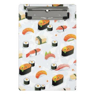 Mini Porte-bloc Nourriture japonaise : Motif de sushi