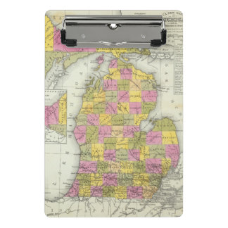 Mini Porte-bloc Nouvelle carte du Michigan 2