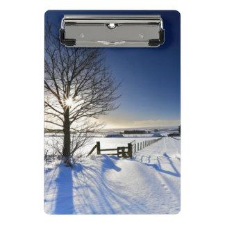 Mini Porte-bloc Paysage 2 d'hiver