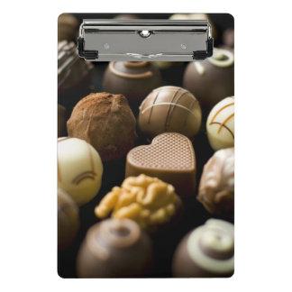 Mini Porte-bloc Pralines délicieuses de chocolat