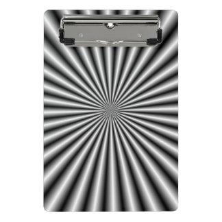 Mini Porte-bloc Rayons en noir et blanc
