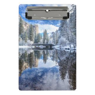 Mini Porte-bloc Réflexion d'hiver chez Yosemite