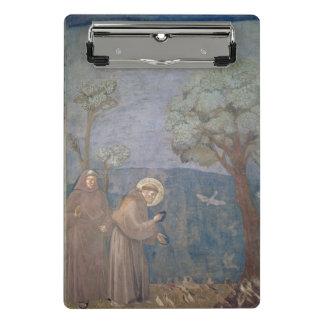 Mini Porte-bloc St Francis prêchant aux oiseaux, 1297-99