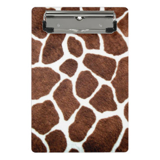 Mini Porte-bloc Taches de girafe