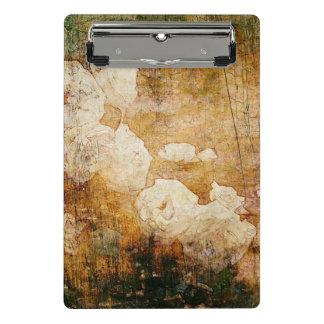Mini Porte-bloc texture vintage florale grunge d'arrière - plan