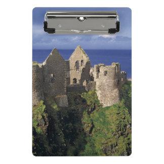 Mini Porte-bloc Un arc-en-ciel heurte le château médiéval de