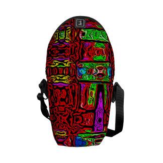 Mini sac messenger à battement urbain besaces