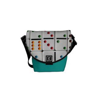 Mini sac messenger à dominos (copie de taille besace