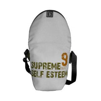 Mini sac messenger à individu suprême vert besace