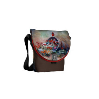 Mini sac messenger cardinal de débordement besace