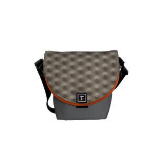 Mini sac messenger en caoutchouc de relief #2 besace