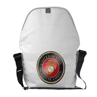 Mini sac messenger zéro à usmc sacoches