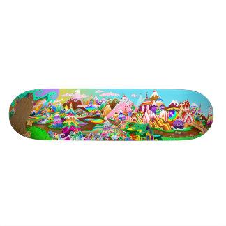 """Mini Skateboard 18,4 Cm Planche à roulettes de la """"TERRE"""" de la sucrerie"""