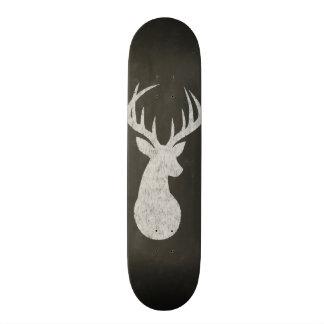 Mini Skateboard 18,7 Cm Cerfs communs avec le dessin de craie