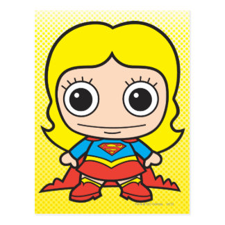 Mini Supergirl Carte Postale