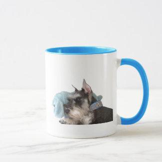 Mini tasse de Schnauzer