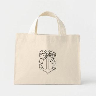 Mini Tote Bag Ancre marine