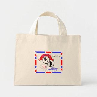 Mini Tote Bag Anniversaire de prince Philip soixante-dixième de