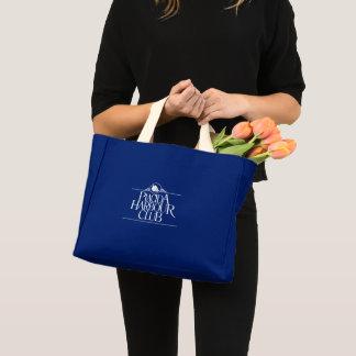 Mini Tote Bag Bleu royal minuscule de Fourre-tout
