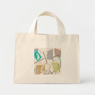 Mini Tote Bag Bloc Fourre-tout minuscule de couleur