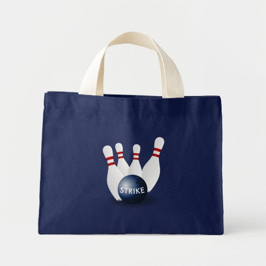 Mini Tote Bag Bowling
