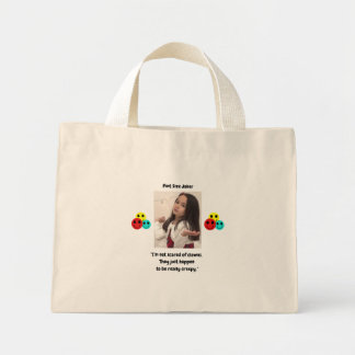 Mini Tote Bag Conception de joker de taille de pinte : Clowns
