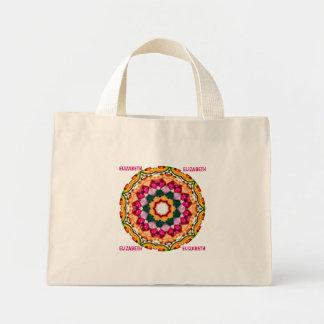 Mini Tote Bag ~ de fractale de gemme personnalisé par ~