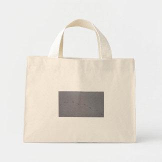 Mini Tote Bag empreintes de pas d'oiseau