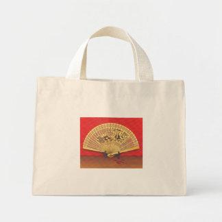 Mini Tote Bag Eventail chinois