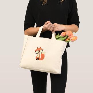 Mini Tote Bag Fox rouge de hippie mignon