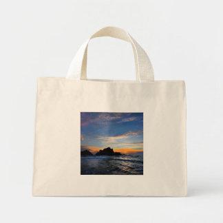 Mini Tote Bag Grand coucher du soleil de Sur