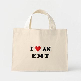 Mini Tote Bag J'aime un EMT