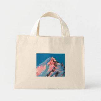 Mini Tote Bag montagne ensoleillée