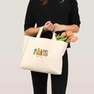 Mini Tote Bag Paris, Joie de Vivre