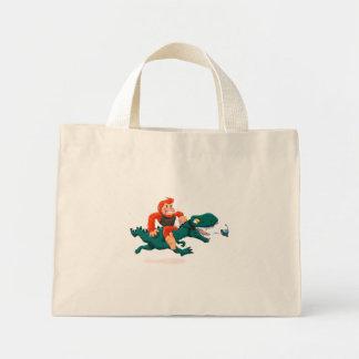 Mini Tote Bag Rex-bande dessinée Bigfoot de la Bigfoot-bande