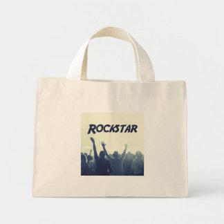 Mini Tote Bag Vous êtes un Rockstar !