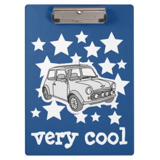 Mini voiture porte-bloc