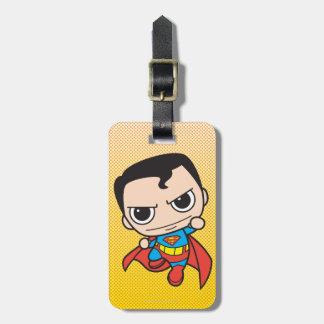 Mini voler de Superman Étiquette À Bagage