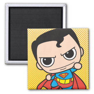 Mini voler de Superman Magnet Carré